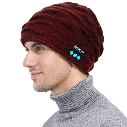 Moda Pucerka Bezprzewodowa Czapka Beaniex Smart BT
