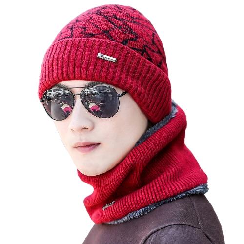 Sombreros de punto de los hombres Sombrero de la bóveda acanalado Casquillo del invierno del otoño Cráneos calientes Sombrero de la calle Sombrero