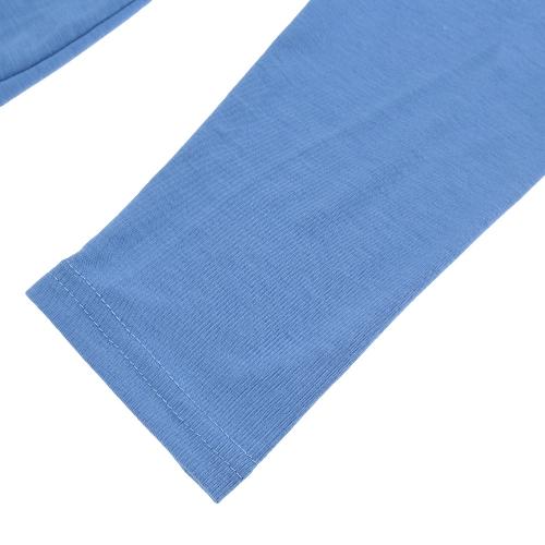 TOMTOP / Mulheres Sexy vestido contínua Slash pescoço manga longa festa Bodycon Clubwear azul novo