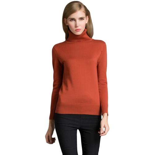 Модные зимние женские свитера трикотажные черепаха с длинными рукавами фото