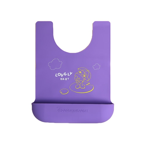 Nueva moda chicos chicas Unisex Silicon manteles cojines portátil plegable impermeable azul/verde/púrpura