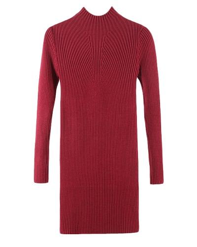 Jesienne Zimowe Kobiety Dżinsy Sweter Sukienka Sukienka Dżinsowa Sukienka Z Długim Rękawem Ciało Nadwagą Nadruk Jedwabna Top