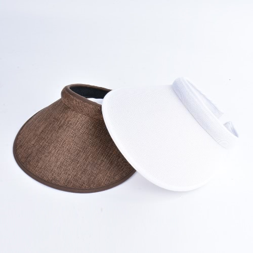 Мужские женщины Мужчины Летние солнцезащитные козырьки Широкие широкие брюки Топлес Теннис Гольф Головной убор Hat Headwear фото