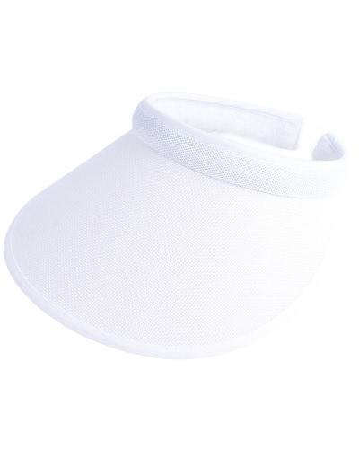 Unisex Mujeres Hombres Summer Sun Visors Cap Amplio Wide Brim Topless Tennis Golf Headband Sombrero Headwear