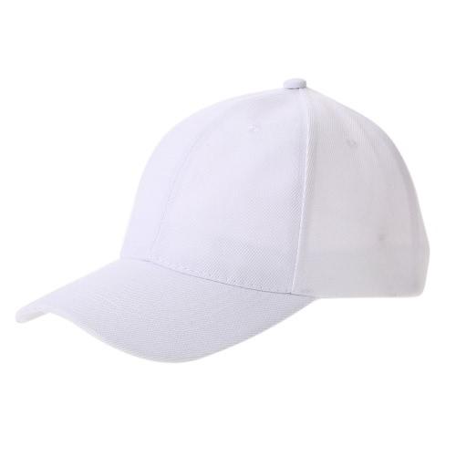 Homens e Mulheres Moda Puro Color Casual Sports Hat Hip Hop Lovers Baseball Cap Acessório