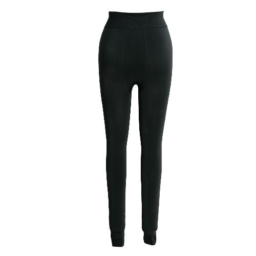 Nuevo atractivo de las mujeres de las polainas del invierno caliente grueso sólido medias de la alta elástico flaco Bodycon pantalones de Jeggings