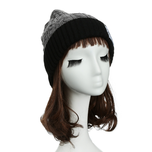 New Fashion Unisex Women Men Knitted Beanie Hat Warm Hip-Hop Cap Turtleneck Cap