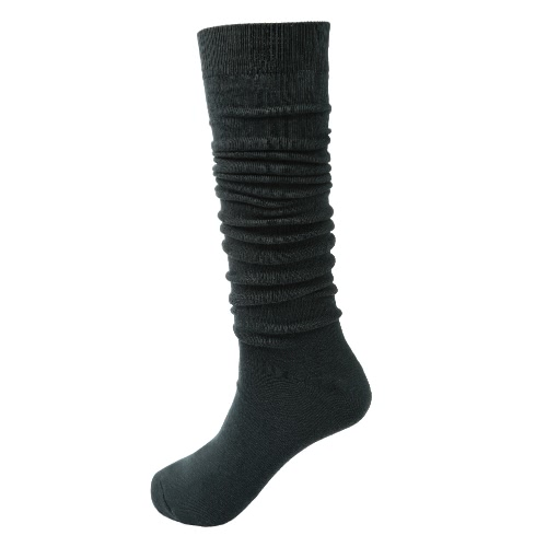 1 Pair Women Girls High Stockings Knee High Socks Japanese Student Style Solid Color Casual Socks