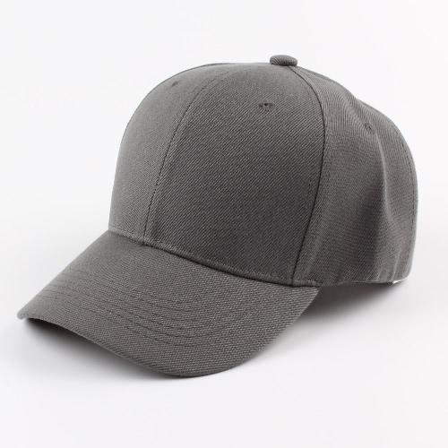 Unisex Mulheres Homens Boné de beisebol Cor sólida Hip Hop Casual Sport Sun  Casquette Headwear Chapéus 713e5c3af06