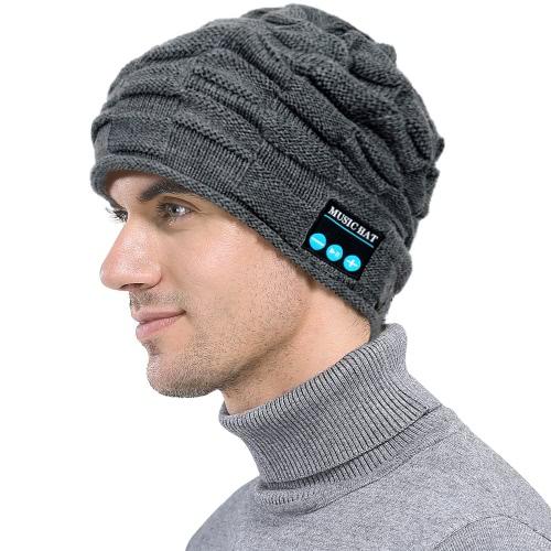 Moda Puckery Unisex BT Smart Smart Beanie Hat