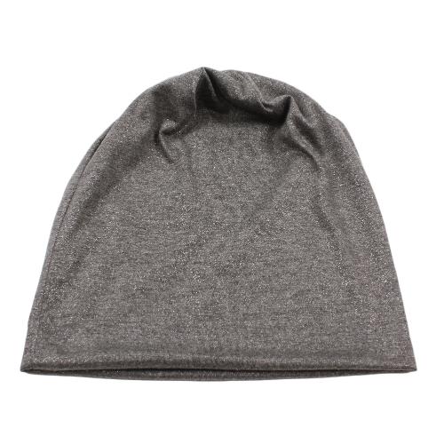 Cappucci metallici luccicanti metallici del cappello del cappello del cappello delle nuove donne di modo Uomini Unisex Unisex Caps