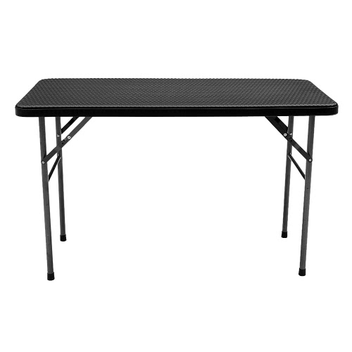 iKayaa 4FT Folding Camping Picnic Table Portable Outdoor Garden Coffee Table