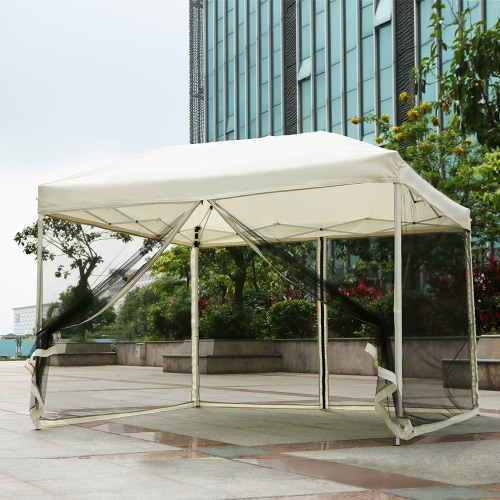 iKayaa 3 * 3 * 2.6M Tente pliante de pique-nique
