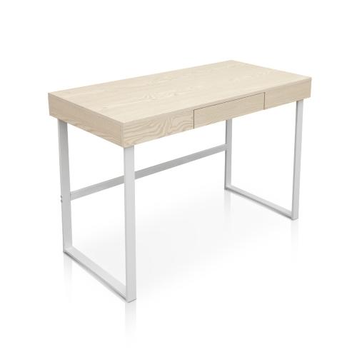 Table de bureau iKayaa avec tiroir effet bois