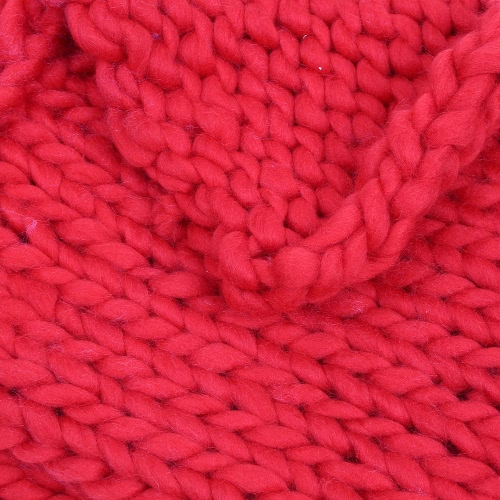 Super Chunky Hand Knit Throw Blanket Crochet Warm Thick Bulky Knitted Soft Sleek Big Sofa Living Room Handwoven 23.6x23.6in, TOMTOP  - buy with discount