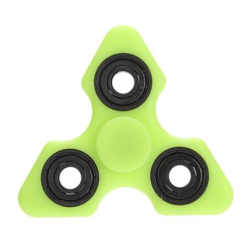 Tri Fidget Ręczna paleta Spinner Spin Widget Focus Toy EDC Kieszonkowy Desktoy Trójkąt Prezent dla dzieci ADHD Luminous rozżarzony w ciemności Zwolnienie Stres Anxiety