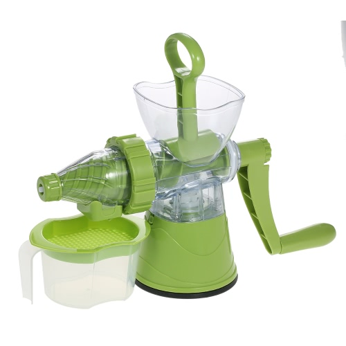 Multifunctional Juicing Machine Press Fruit Juicer Detachable Fruits Hand Crank Juicer Juice Extractor Practical Manual Juicer