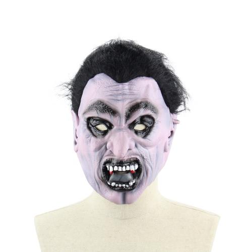 Latex Scary Vampire Maske Full Face Horror Toothy Zombie Masken mit Elastik Strap für Halloween Masquerade Kostüm