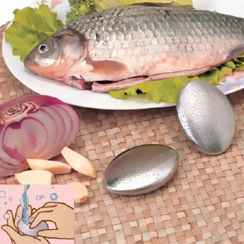 Дезодорантное мыло из нержавеющей стали Дезодорирует запах от рыбы или что-то сонное овальное