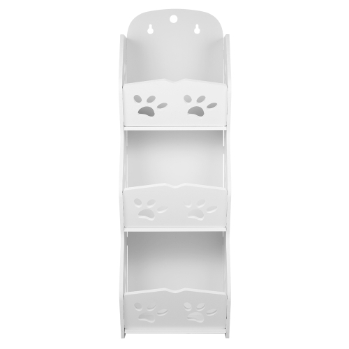 3-Tier Storage Organizer Shelf DIY Set desmontable estante de almacenamiento lavable