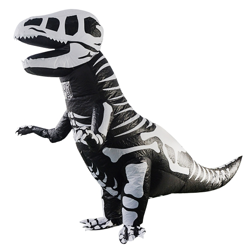 Traje de traje inflable de dinosaurio de adultos Fancy Blow Up traje inflable mono para Cosplay Festival de fiesta de disfraces de Halloween