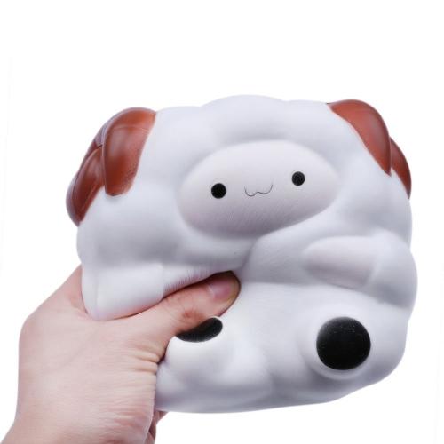 Мягкие симпатичные мультфильмы Big Sheep Simulation Toys Antistress Squishy Slow Rising Toy Squeeze Stress Reliever Fun Kid Gift