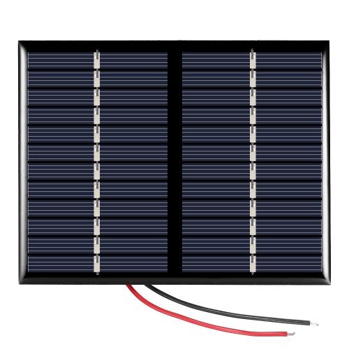 1.5W 12V Polycrystalline солнечная панель солнечных батарей солнечной батареи для заряжателя силы DIY 115 * 90mm