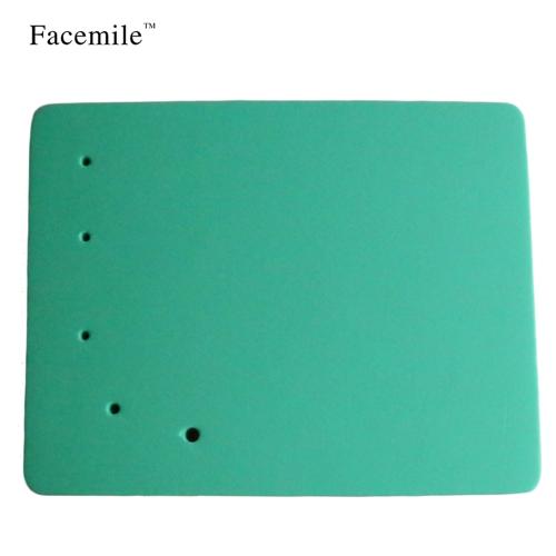 1PCS 5-отверстие Fondant Bake Cake Mat Square Foam Pad DIY Инструментальная пресс-форма, украшающая цветок Fondant Tools