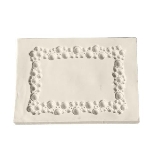 Kuchen Foto Rahmen Form DIY No Stick Schokolade Fondant Dekorieren Werkzeug Silikon Backen Sugarcraft Gumpaste Formen