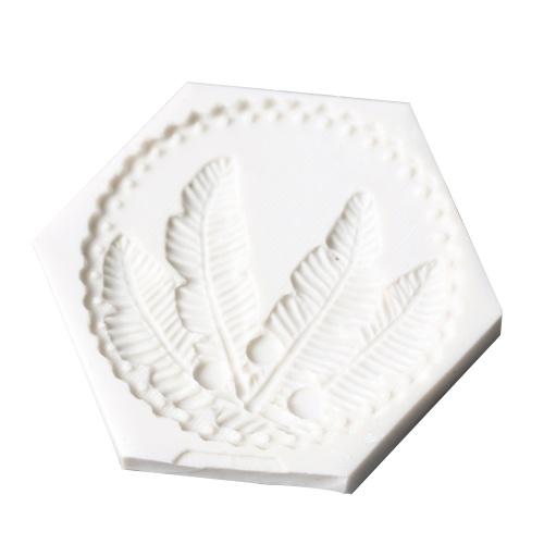 1 шт. Форма для пера Форма силиконовой формы для пресс-форм для шоколада для тортов, украшающих полимерную глину Sugarcraft