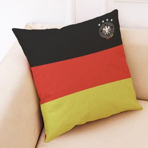 Die 2018 World Soccer Cup Home Decor Kissenbezug Leinen Sofa Design Dekokissen Fall Geschenk Stil 1