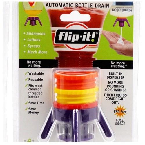 Flip-It All In One Beauty Pack Система раздаточных колпачков Нет больше отходов Универсальный