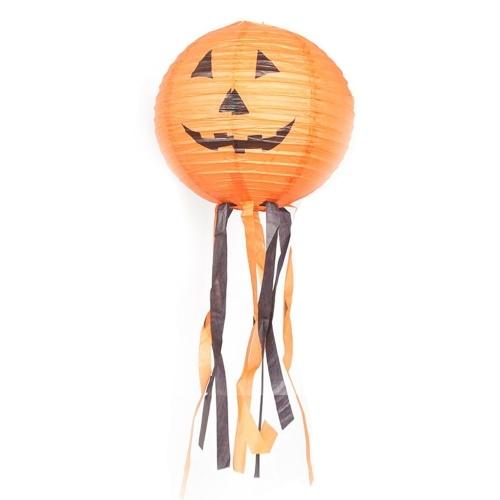 Halloween Kürbis Papierlaternen