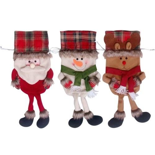 Image of 3 teile / satz Weihnachten Hängende Spielwaren Taschen
