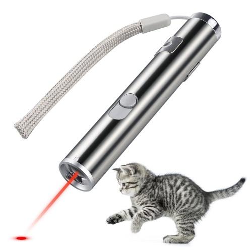 Bild von Katzenjäger Spielzeug 3 in 1 Multifunktions Lustige Katze Laser Spielzeug