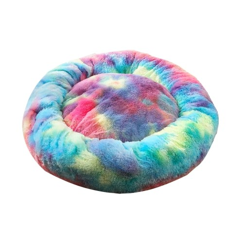 Soft Plush Round Pet Bed