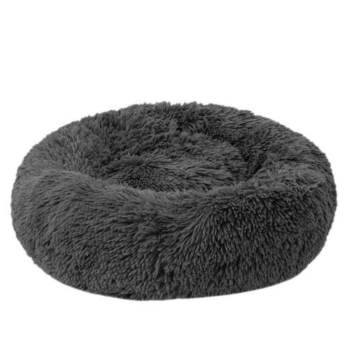 Cama para mascotas redonda de felpa suave Blusea