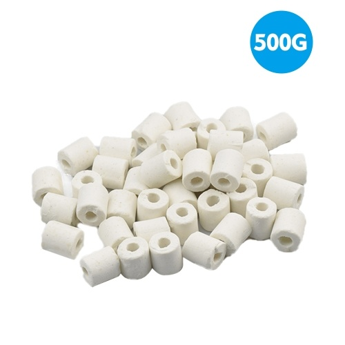 Aquarium Ceramic Ring Filter Media Ring Aquarium Fish Tank Filter Media 500G