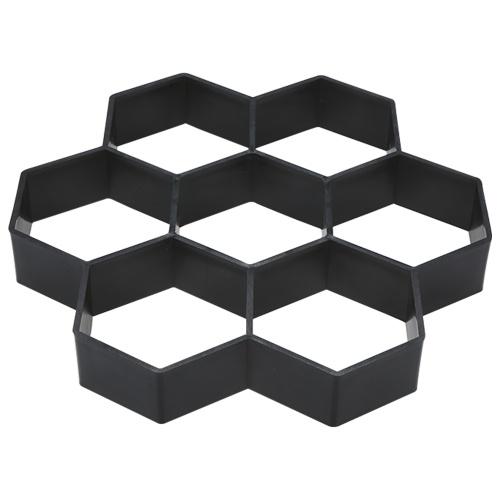 Paving Mould Hexagon Brick Stone Road Path Maker Mould