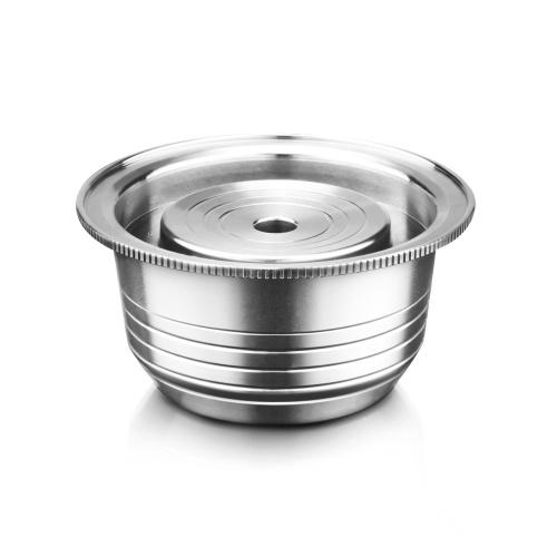 230mlステンレス鋼のコーヒーはVertuolineのポッドフィルターコップを要約します