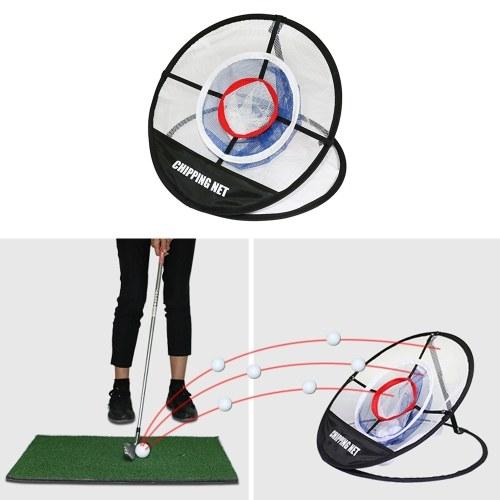 Golf Chipping Net Golf Training Schlaghilfe Pop-up Indoor Golfing Net