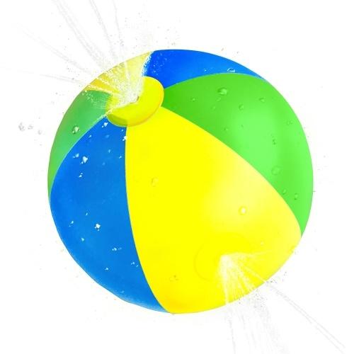 Summer Beach Ball Kids Inflable Beach Sprinkler Water Spray Ball