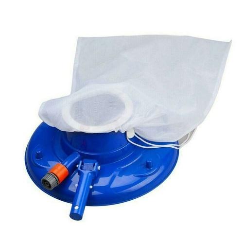 Herramienta de cepillo de fuente de estanque para aspiradora de hoja de piscina