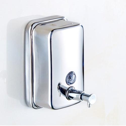 800mL Manual Soap Dispenser Wall Mounted Hand Foam Soap Dispenser Push Pump Soap Dispenser