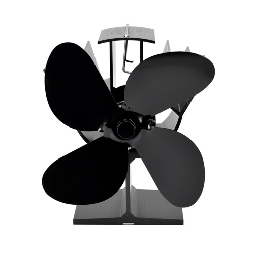 Ventiladores térmicos para estufa de 4 aspas para estufa Ventiladores termodinámicos para chimenea