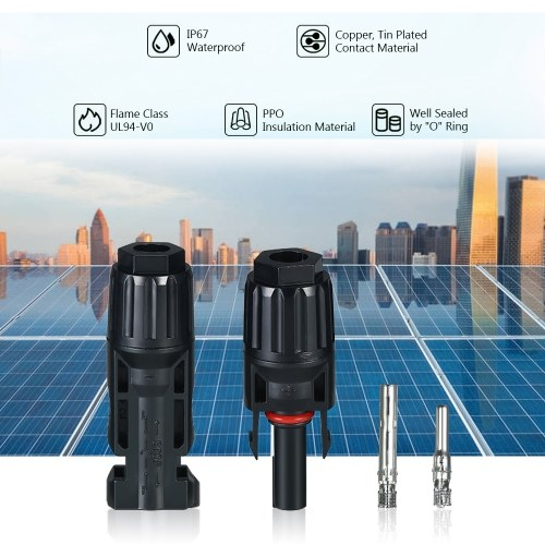 10 Pairs Solar Connectors