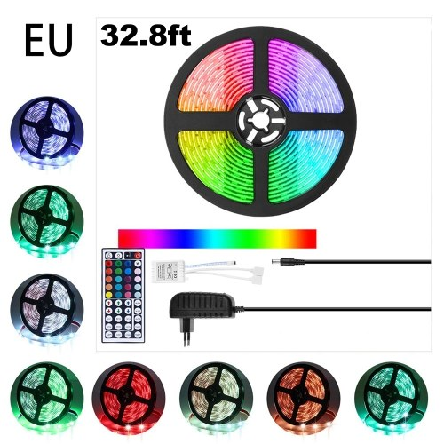 Strisce luminose a LED 32,8ft 5m RGB LED Light Strip (spina europea)