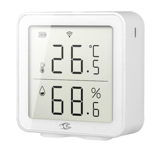 Интеллектуальный домашний датчик температуры и влажности Tuya Wireless Fidelity