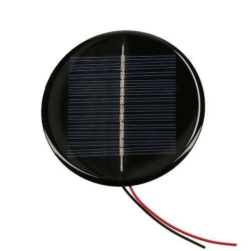 0.5W 6V 80mA Mini Solar Cell Polycrystalline Silicon Solar Panel