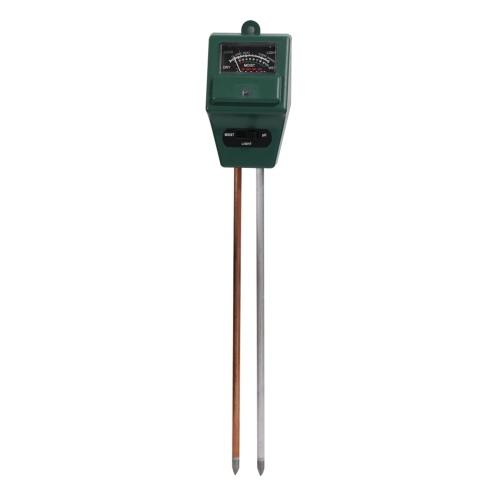 Medidor de humedad de pH de prueba de suelo 3 en 1
